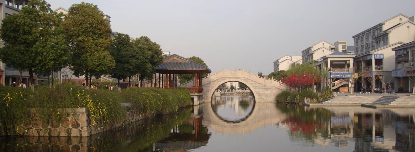 We get the occasional sparkling Spring day this time of year.  Jiangnan University, Wuxi, China