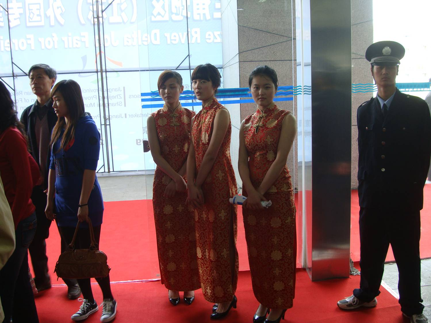 I do appreciate the window dressing.  The 4th Yangtze River Delta Job Fair for Foreign Professionals, Nanjing, China