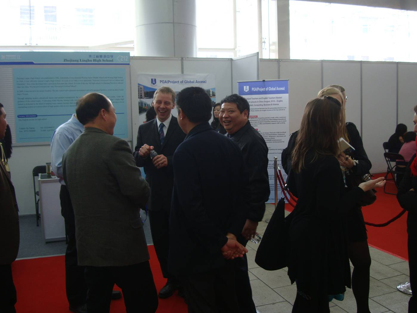A chance to schmooze at the 4th Yangtze River Delta Job Fair for Foreign Professionals, Nanjing, China