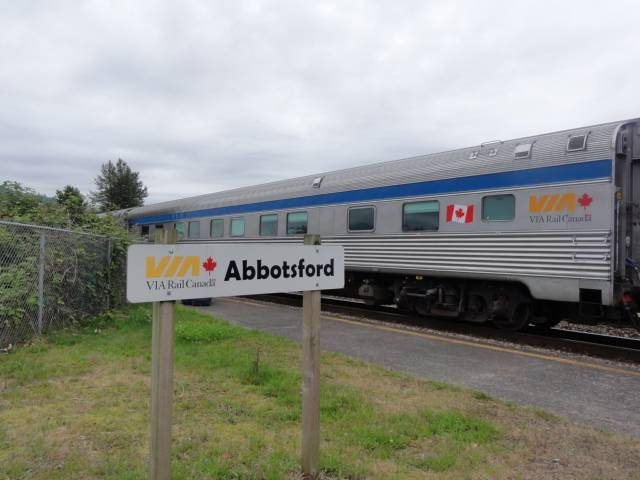 Picture:  The sign says Abbotsford, but really this is Matsqui, B.C.