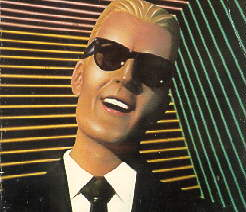 Picture:  Max Headroom.  The kind of face I'd like to own.