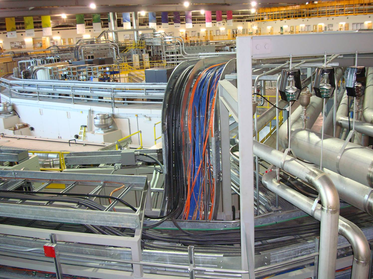 Picture:  Canadian Light Source synchrotron.  Incredible complexity.