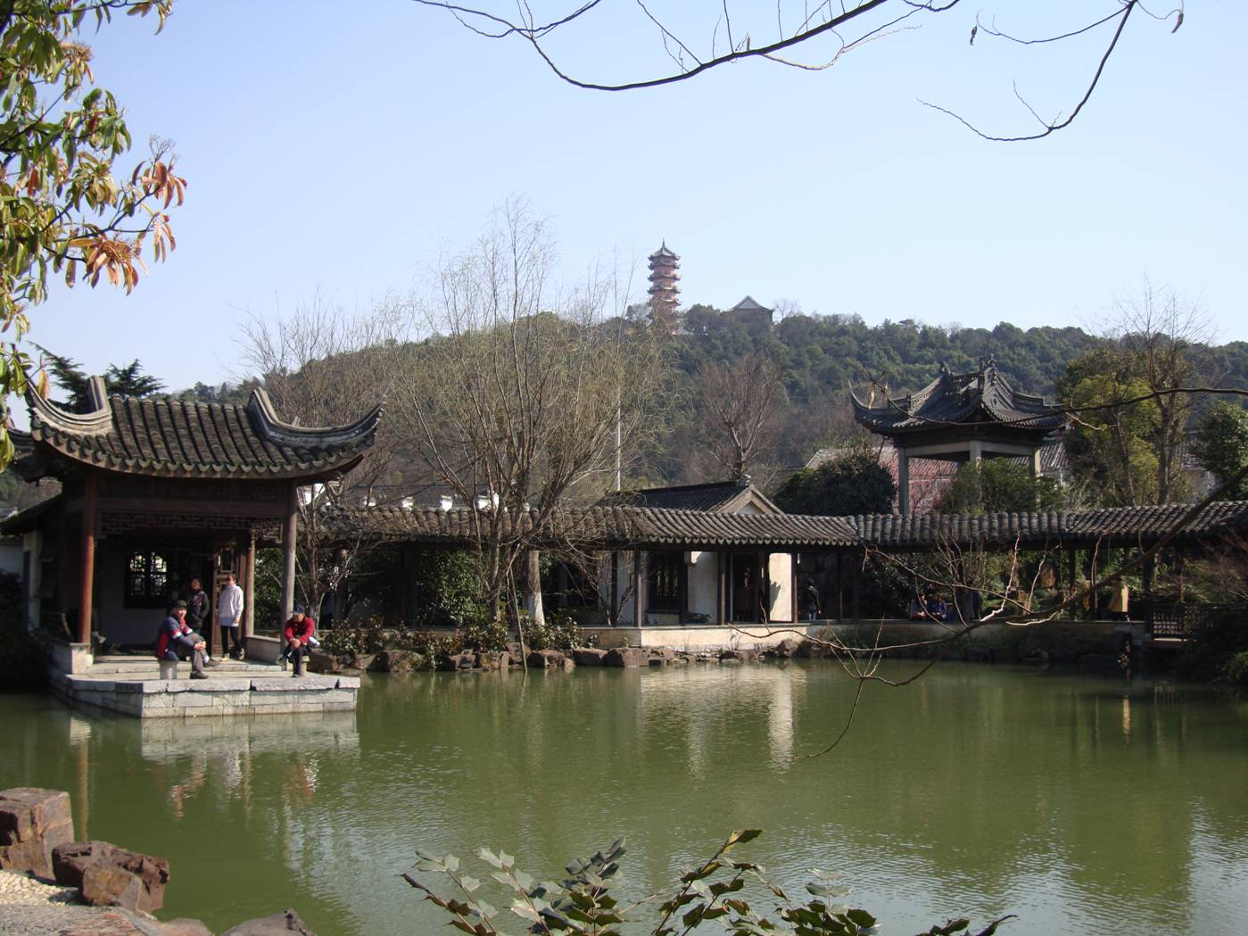 Picture:  I don't know the name of this garden, but it's part of the old city, Wuxi, China