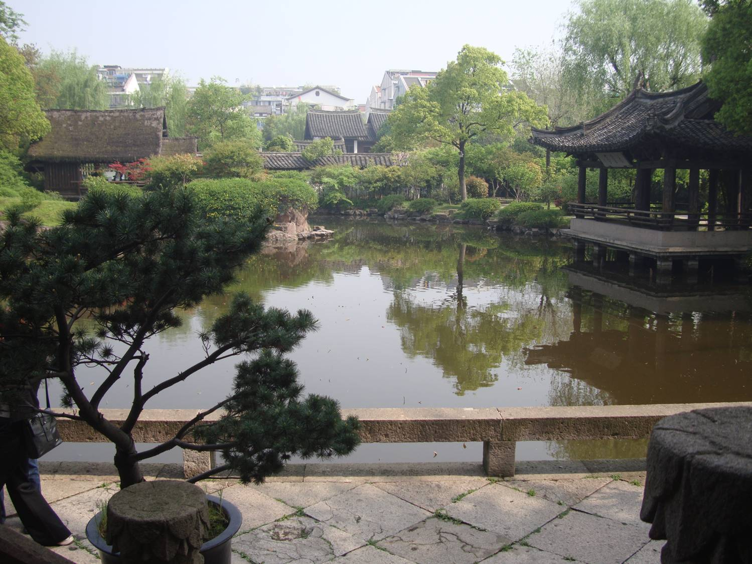 Picture:  a classic garden in Shaoxing, China