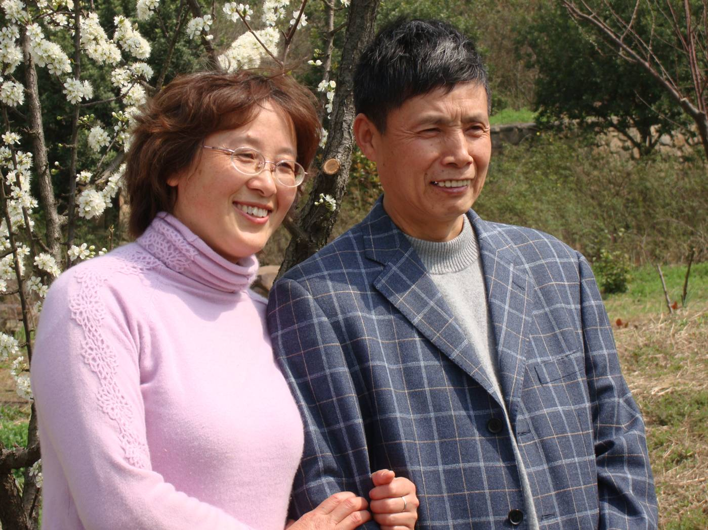 Picture:  Mr. and Mrs. Zhu, wonderful friends to have in China.  Wuxi, China