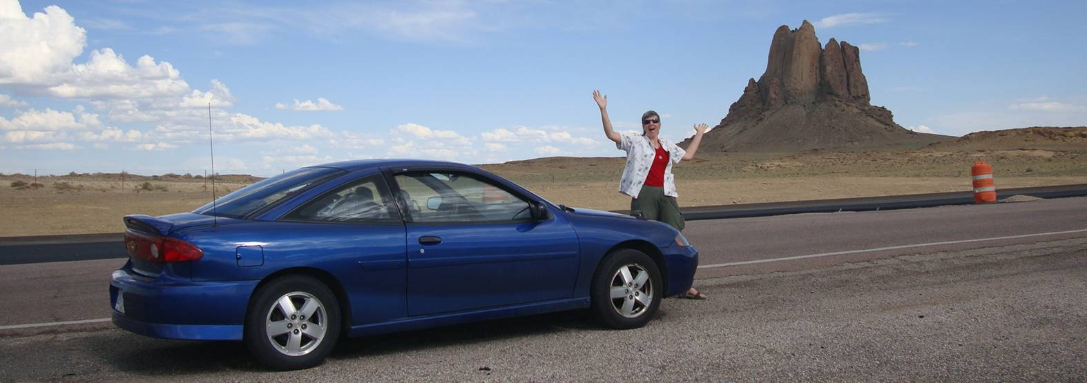 picture:  the Little Blue Car was a joy to drive and gave us not a lick of trouble.  Thanks again Sadie and Malcolm.