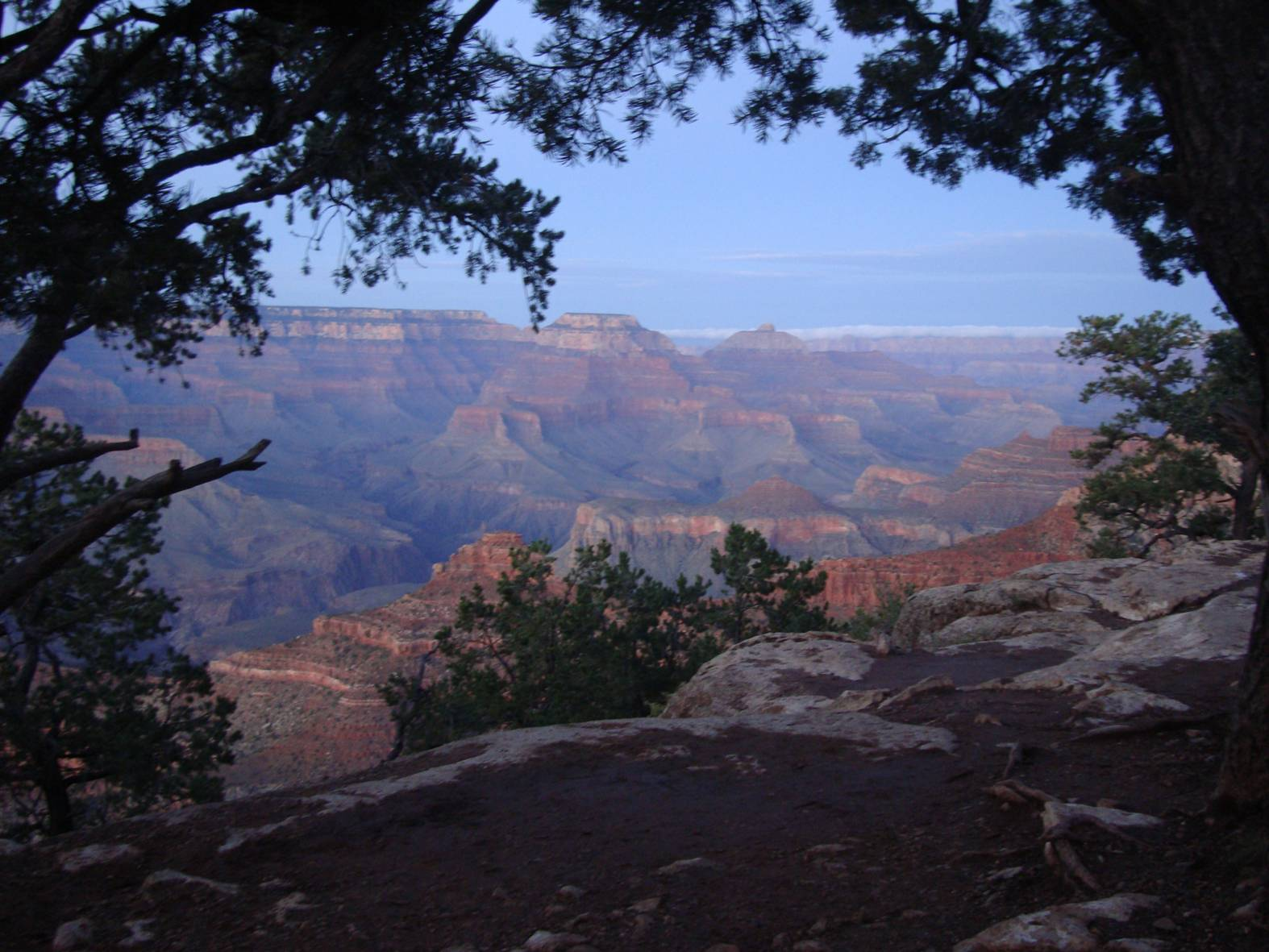 Picture: The Grand Canyon living up to its name.
