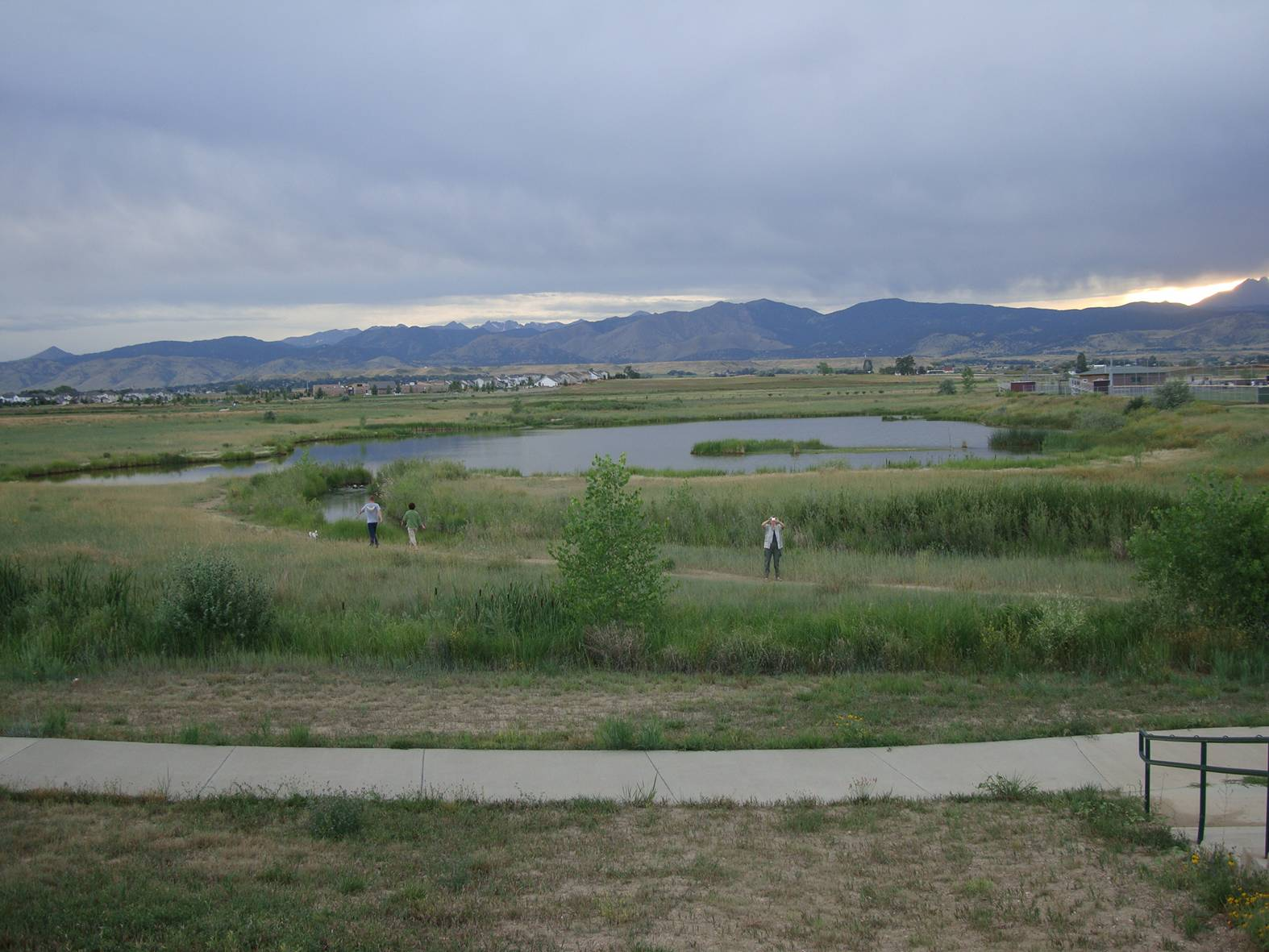 picture: the open space in Longmont, Colorado.  We're off to see the prairie dog colony.