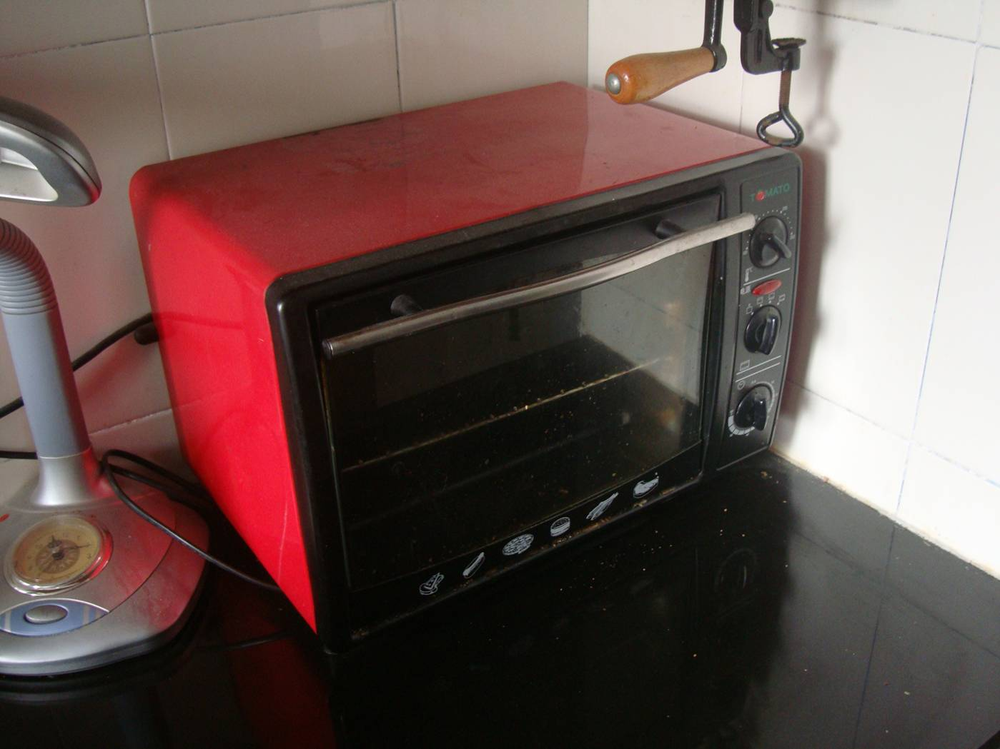 Picture:  Our tiny toaster oven gets a lot of use.  Jiangnan University, Wuxi, China