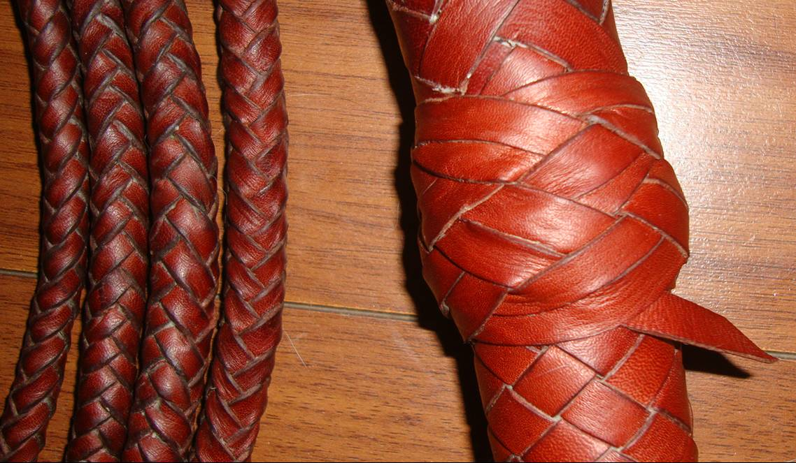 how to plait leather instructions