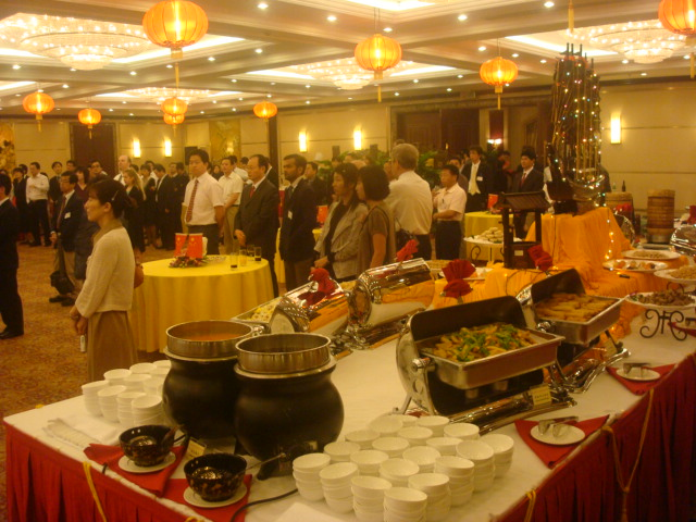 Municipal Dinner for foreign guests,  Tai Hu Hotel (5 stars),  Wuxi,  China
