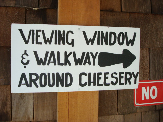 This way to the viewing windows.