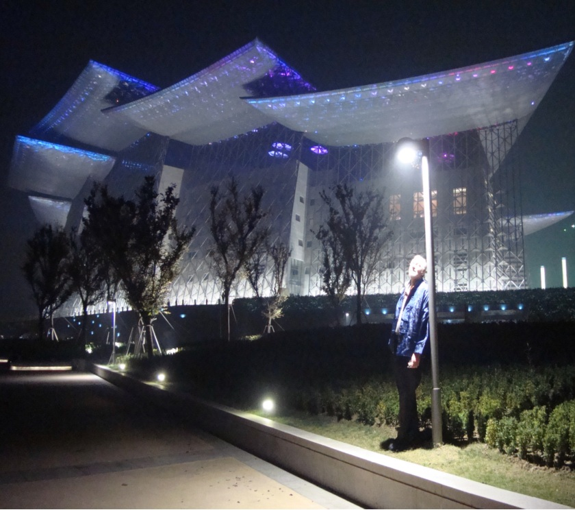 Picture: Wuxi Grand Theatre.  It's grand indeed.