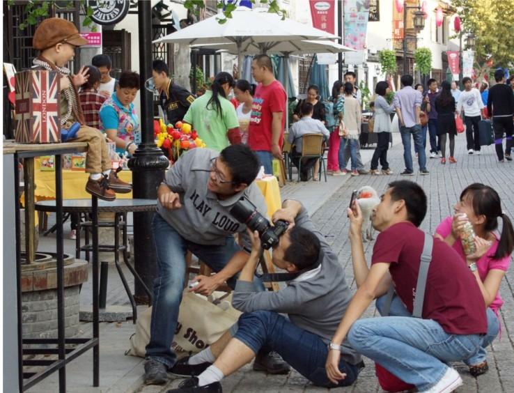 Picture: Yi er san qiezi on Nan Chang Jie