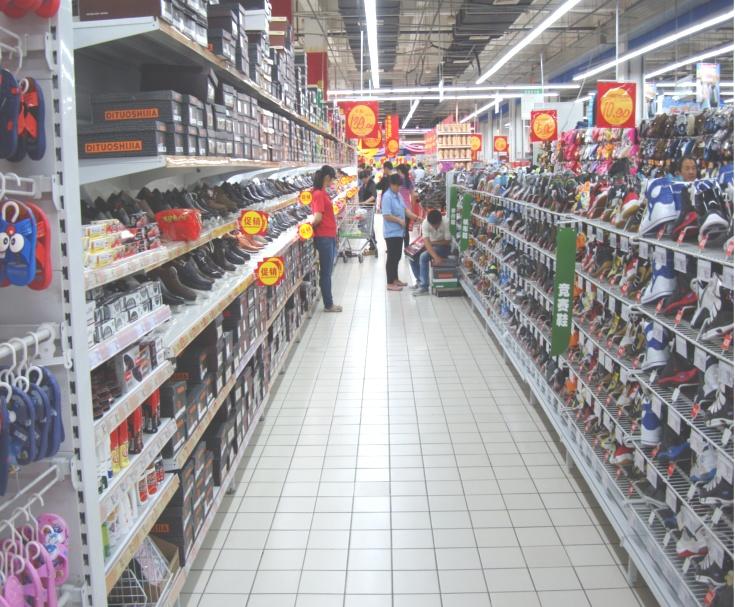 Picture: Auchan shoes.