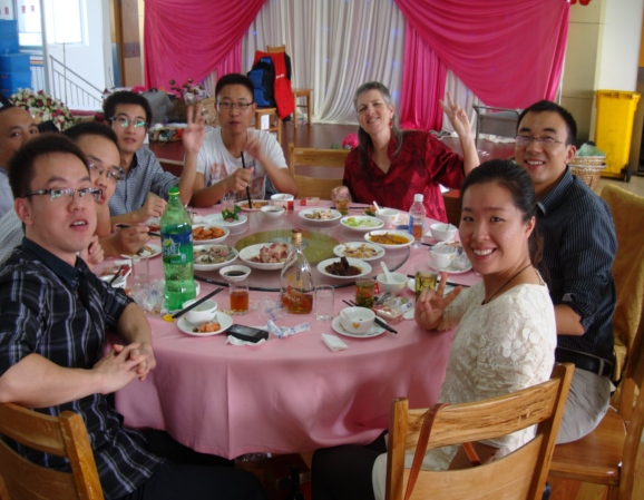 Picture: Wedding lunch for 30 tables of ten guests each.  Delicious food.