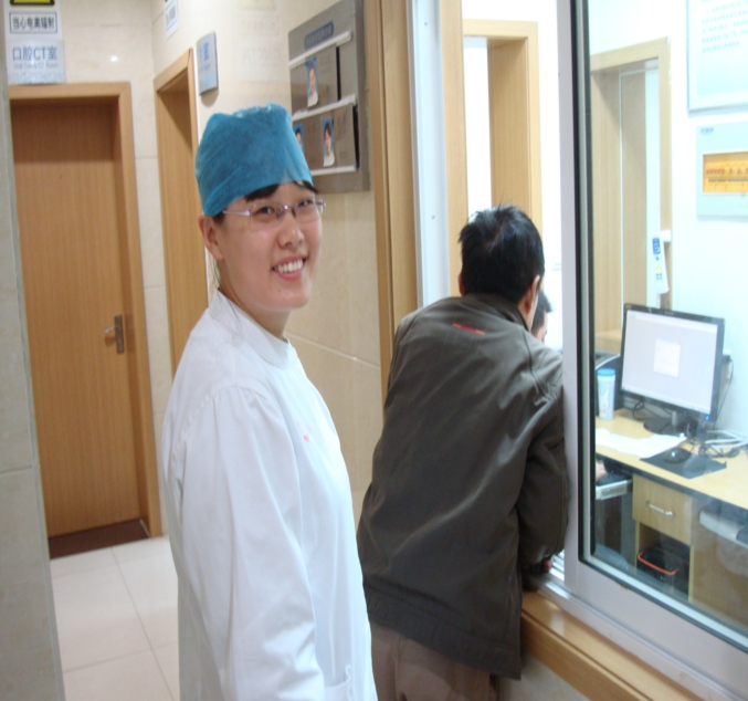 Picture: Feng Chen, my current dentist here in Wuxi.