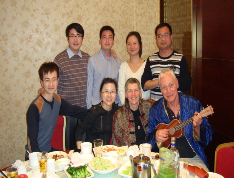 Picture: Former students from Harbin Institute of Technology, now out in the real world and making a go of it. Shanghai, China