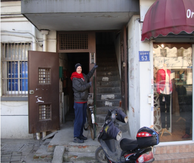 Picture: Hidden entrance to the secret massage parlour. Wuxi, China