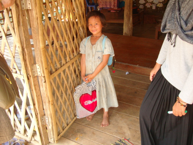Picture: A student at Children of the Forest, Sangkhlaburi, Thailand