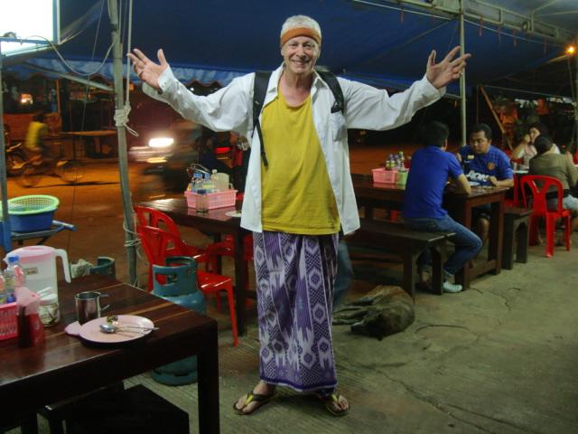 Picture: David goes Burmese, Sangkhlaburi, Thailand