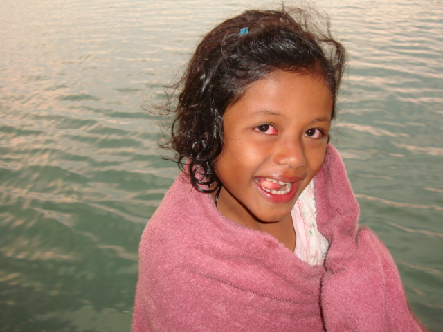 Picture:  One of Naam's girls.  Sangkhlaburi, Thailand