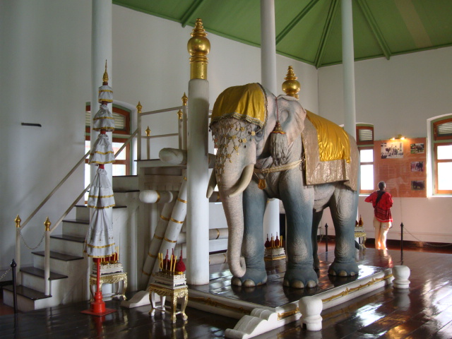 Picture:  Inside the Royal Elephant Museum, Bangkok, Thailand