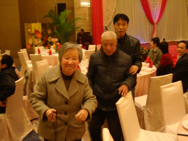 Picture: Grandparents at the wedding.  Wuxi, China