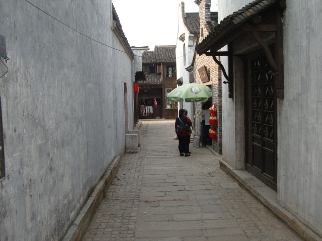 Picture: A stree in the ancient city.  I love the scale, built for people, not cars.  Wuxi Hui Shan, China