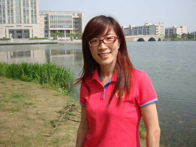 Picture: Guo Wei on the campus of Jiangnan University, Wuxi, China