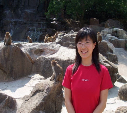 Picture: Guo Wei on Monkey Island, Hainan, China 2005