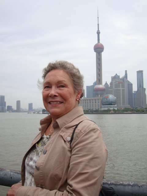Picture: Sister Catherine in Shanghai, China