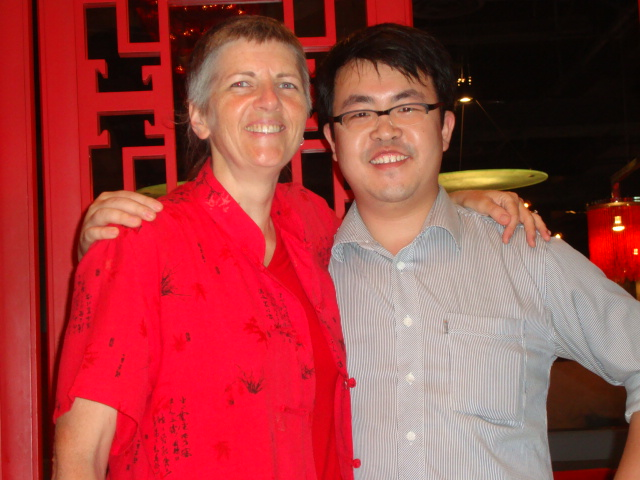 Picture:  Ruth with Air, Zen Restaurant, Raffle's Plaza, Shanghai
