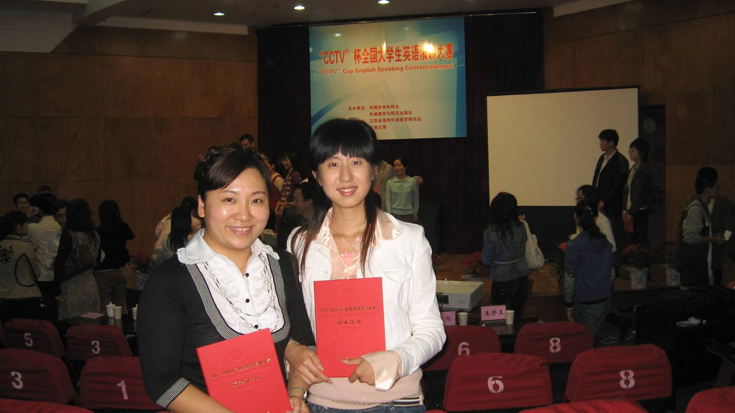 speach contest winner Jiangnan University,  Wuxi,  China