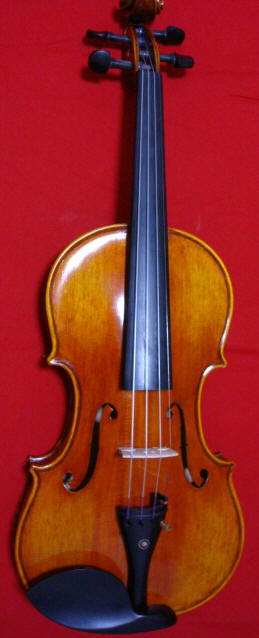 Reba's new violin from Shi Ruilin's studio,  Shanghai,  China
