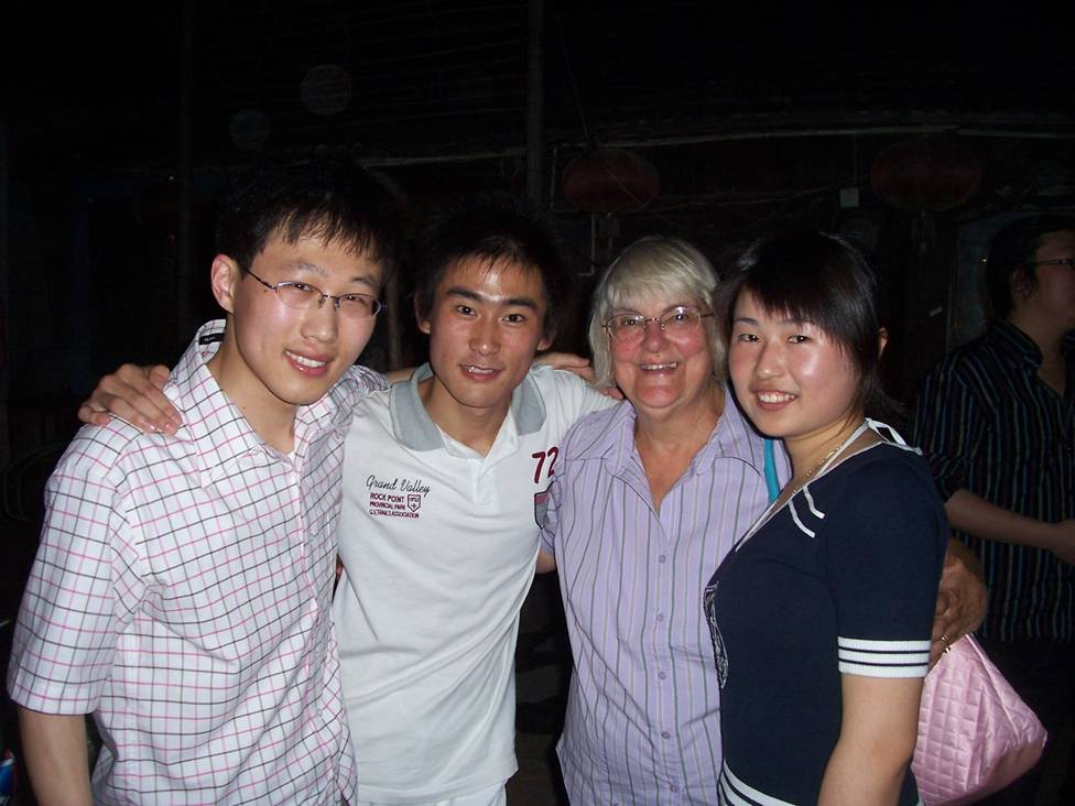 Party time with visitors from Canada,  Jiangnan University,  Wuxi,  China